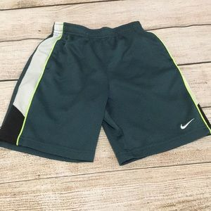 Little boy Nike Dri-fit shorts